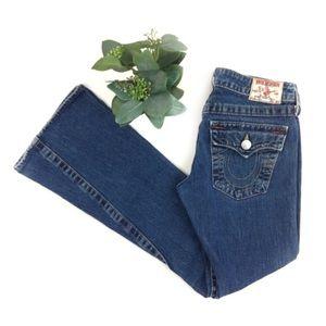 True Religion | Joey Flare Blue Jeans size 27